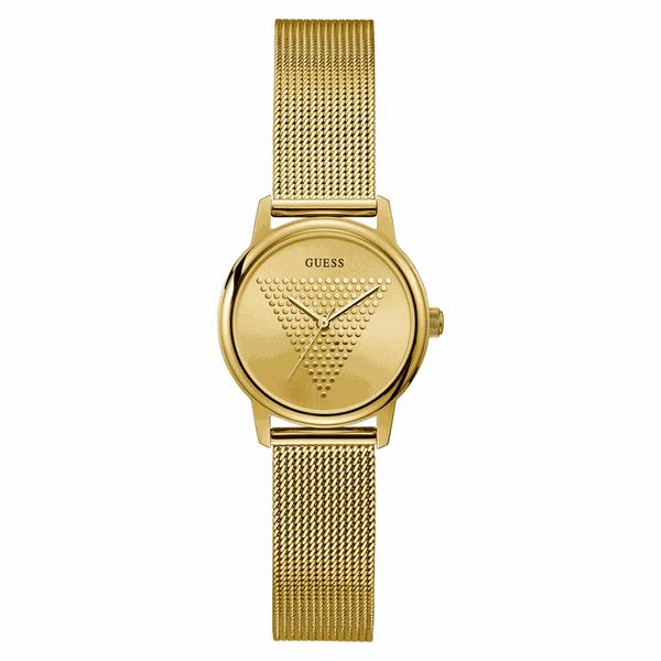 Relógio Guess Feminino Dourado Logotipo