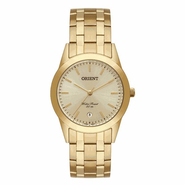 Relógio Orient Masculino Eternal Dourado