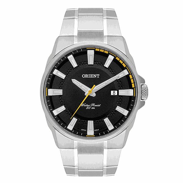Relógio Orient Masculino Neo Sport Preto com Amarelo