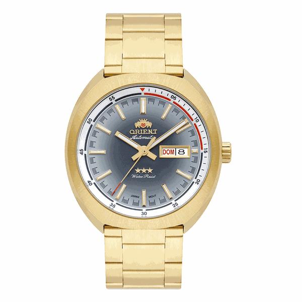 Relógio Orient Masculino Automático Dourado