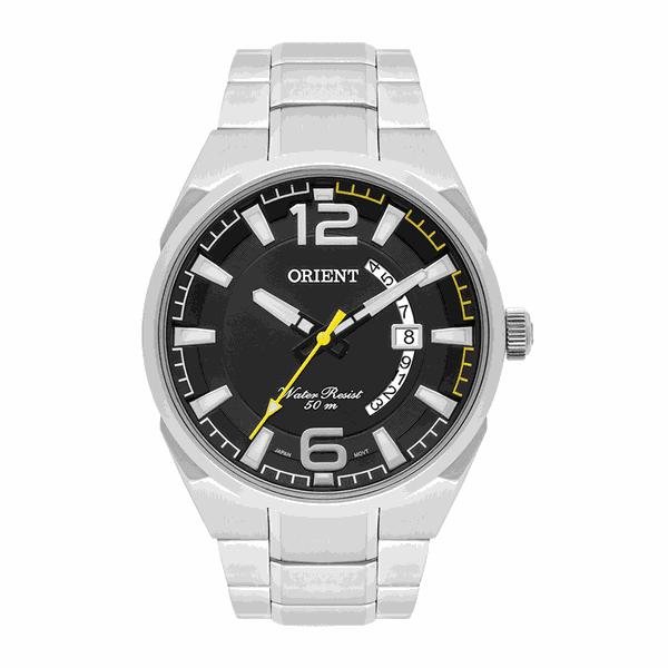 Relógio Orient Masculinos Neo Sports Preto com Amarelo