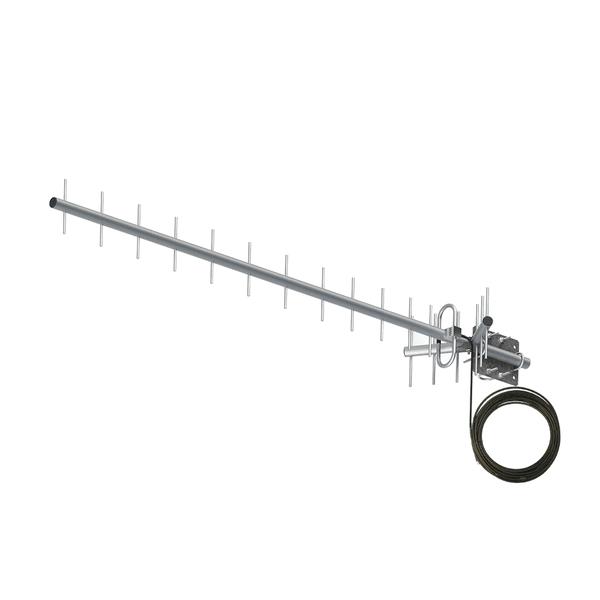 Antena Celular Dual Band com cabo 800|900 MHz 20 dBi