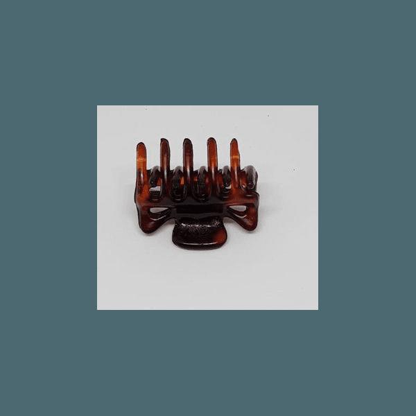 Prendedor Mini 2,5x1,5cm Tartaruga de Acetato Musa Kalliopi
