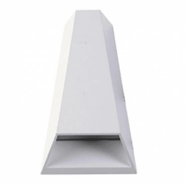 Arandela Led Dois Fachos Branca D1341