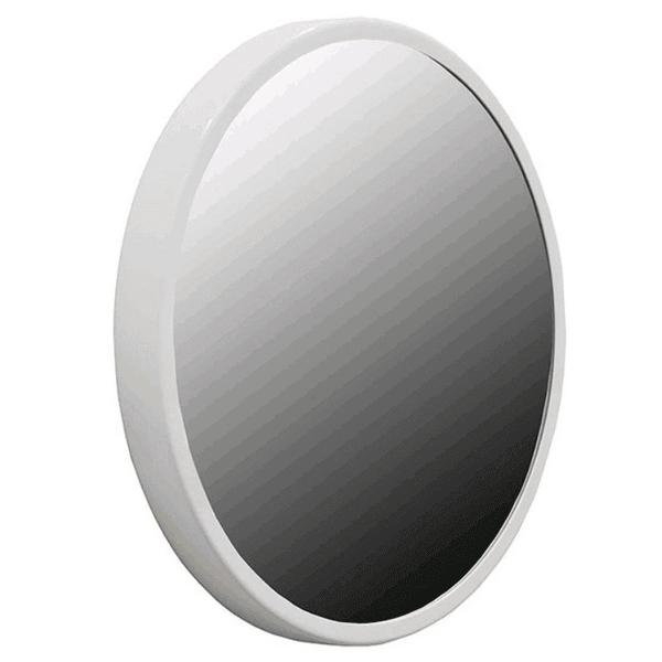 Espelho Redondo Branco 50cm Reduna PD0455