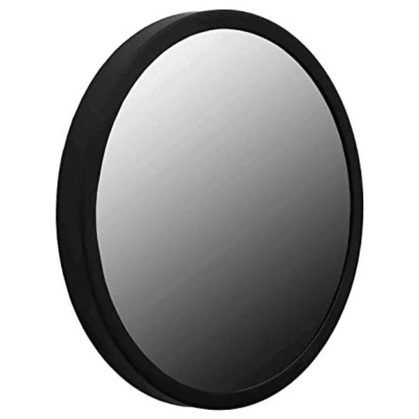 Espelho Redondo Preto 40cm Reduna PD0452