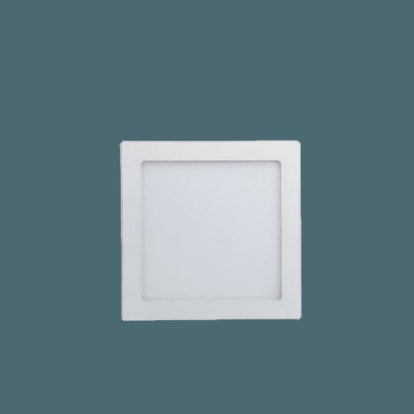 Luminária Plafon Quadrado 18W 6500K Sobrepor LedBee