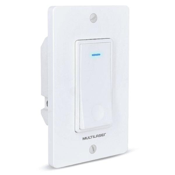 Interruptor Inteligente 127V 1 Tecla Wi-Fi Multilaser Liv - SE235