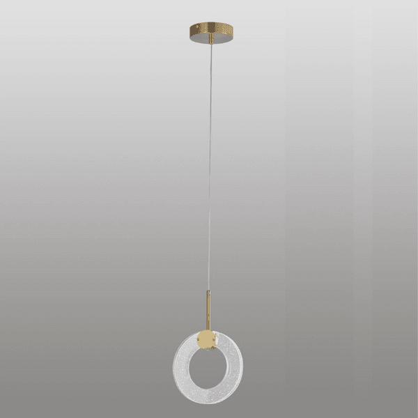 Pendente Led Argola Luminosa Metal e Acrílico Bivolt Sindora DCD02102