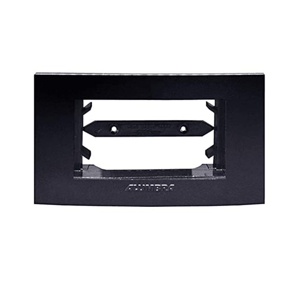 Placa 1 Módulo Horizontal Black Piano Inova Pro - 85534