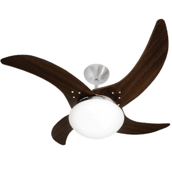 Ventilador de Teto Mareiro 127V CTM Escovado Tabaco Tron