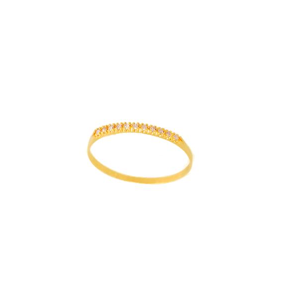Anel Feminino Aparador em Ouro 18k com Diamantes