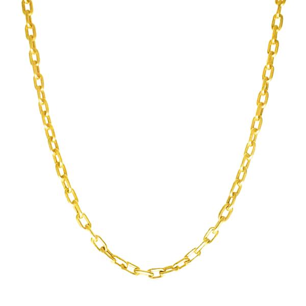 Corrente Masculina Cartier Tipo P em Ouro 18k