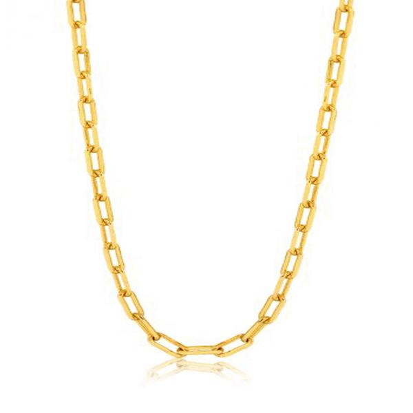 Corrente Masculina Cartier Tipo GG em Ouro 18k