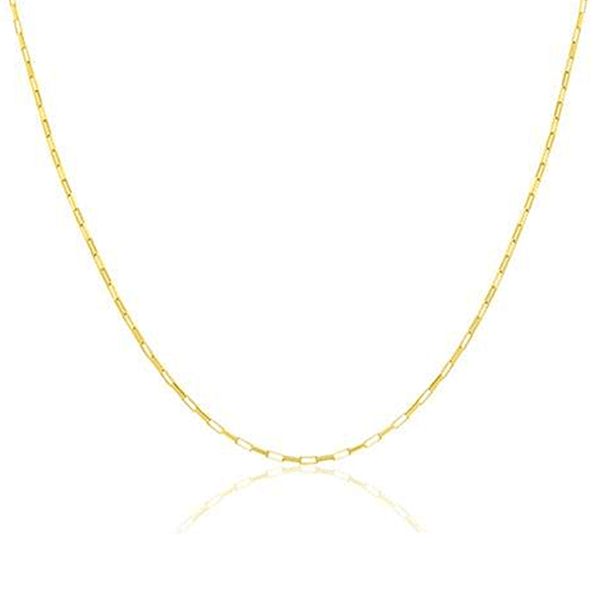 Corrente Masculina Cartier Tipo M em Ouro 18k