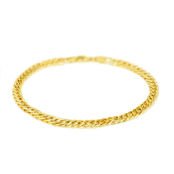 Pulseira Masculina Grumet Tipo G em Ouro 18k