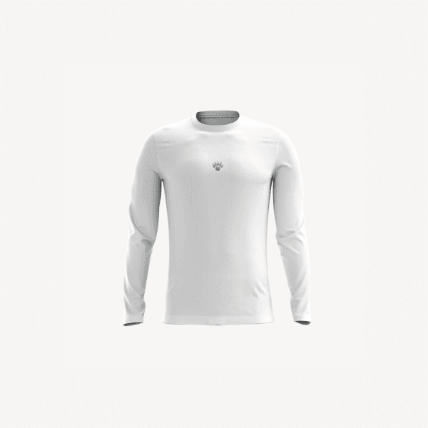 Camisa UV Infantil Branca