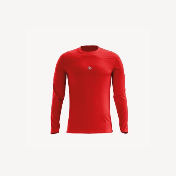 Camisa UV Infantil Vermelha