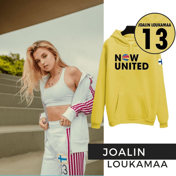 BLUSA MOLETOM NOW UNITED INFANTIL - JOALIN - AMARELO