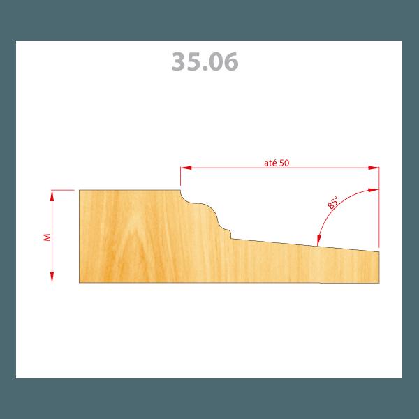 Fresa Para Almofadas 160 mm em Aço (35.06)