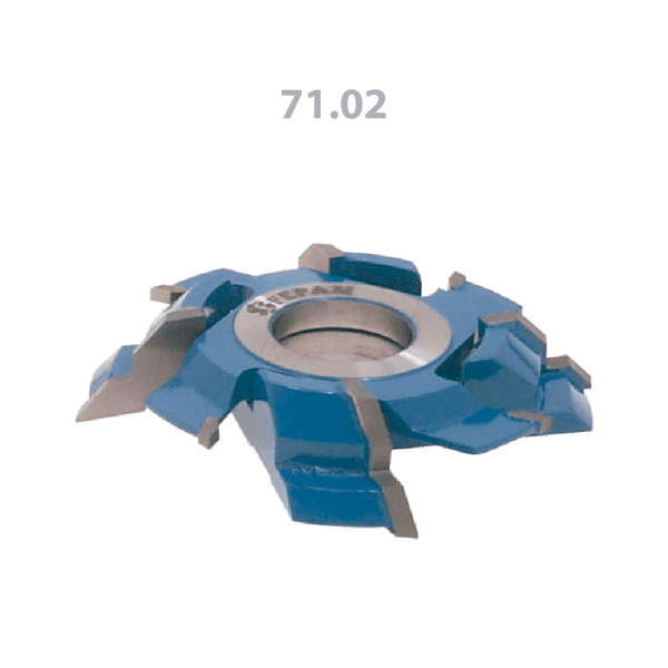 Fresa para Rejunte 45° 125mm X 14-23mm 4+4 Asas (jogo)