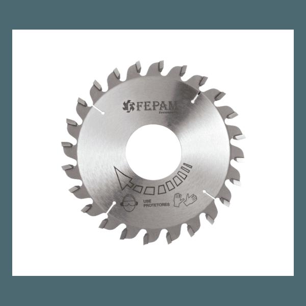 Disco de Serra Circular Riscador 110 mm X 24 Dentes 3,1-4,2/2,5 F45 Fepam
