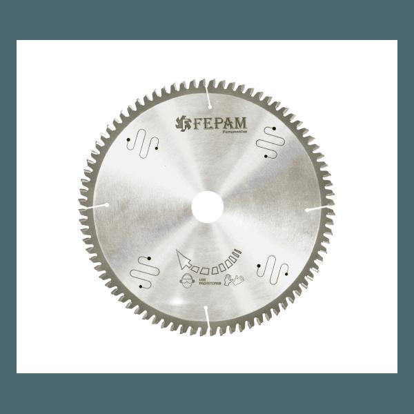 Disco de serra circular para corte de alumínio 400 mm x 120 dentes RT ( - ) F.32 Fepam