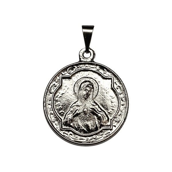 Medalha do Apostolado Niquelado