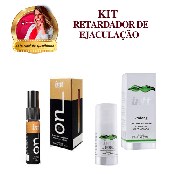 ON + Prolong / KIT RETARDADOR DE EJACULAÇÃO