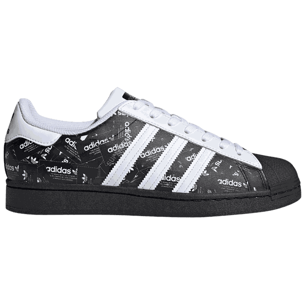 Tênis Adidas Superstar All Over Print - Black