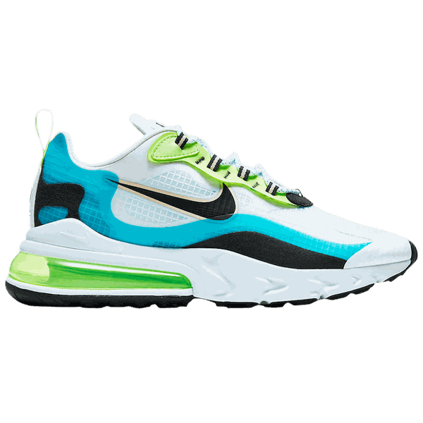 Tênis Nike Air Max 270 React Oracle Aqua