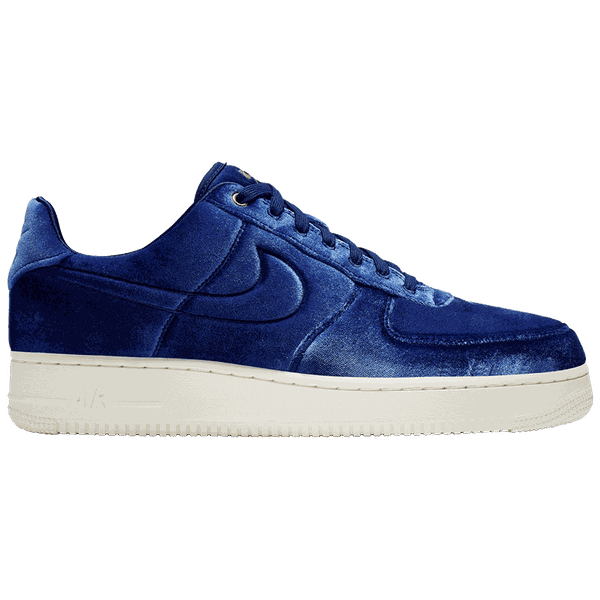 Tênis Nike Air Force 1 Premium ' Blue Velour'