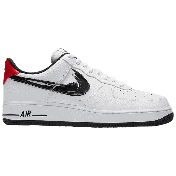 Tênis Nike Air Force 1 Low Brushstroke Shoosh - White