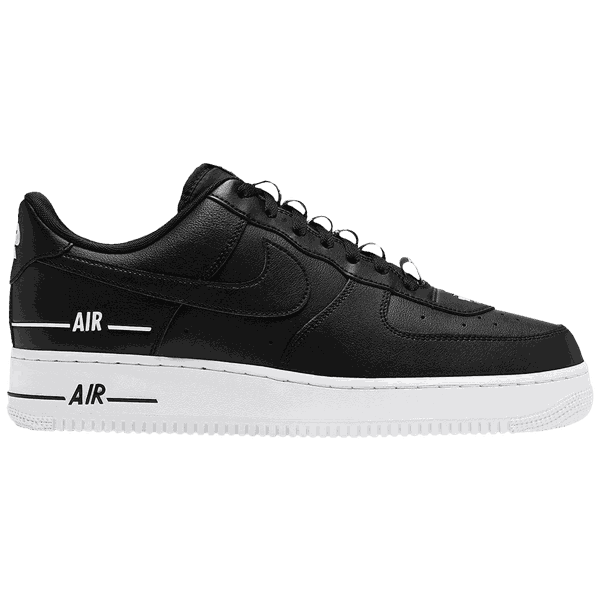 Tênis Nike Air Force 1 '07 Lv8 Double Air Pack - Black