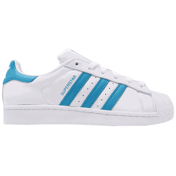 Tênis Adidas Superstar White/ Blue