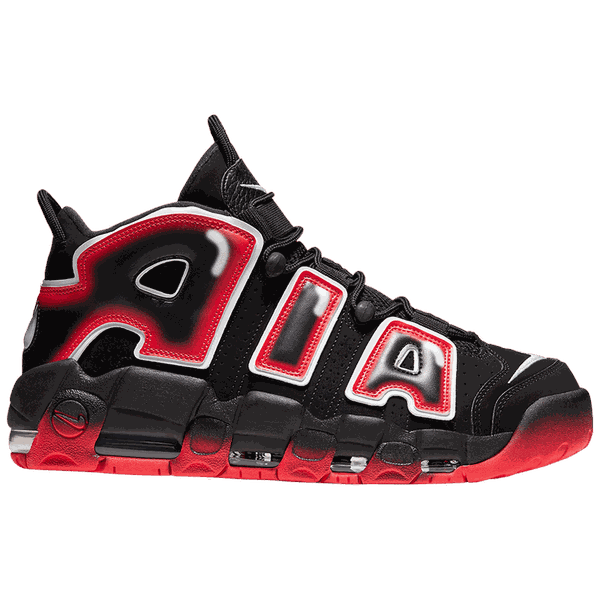 Tênis Nike Air More Uptempo Laser Crimson