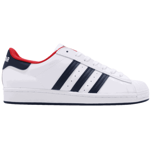Tênis Adidas Superstar Navy Red