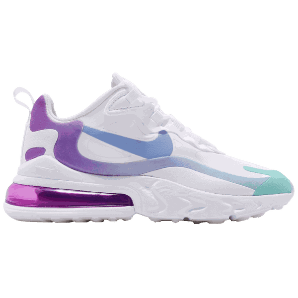 Tênis Nike Air Max 270 React White/ Purple
