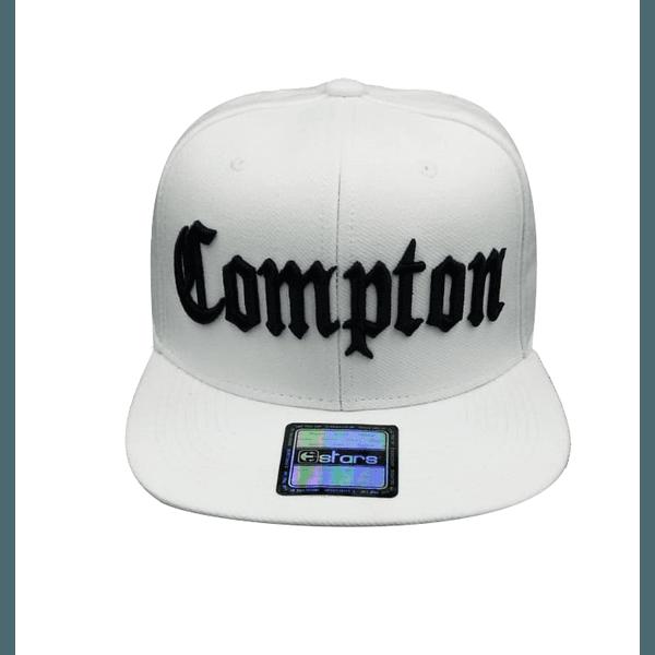 Boné Snapback E-STARS Compton Branco