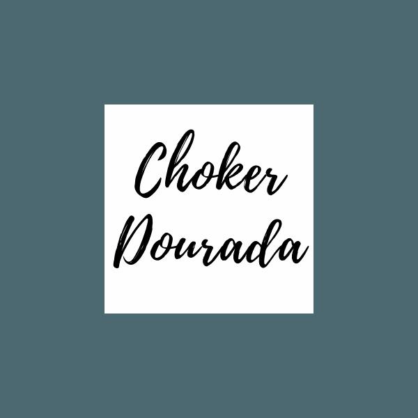 Choker Dourada