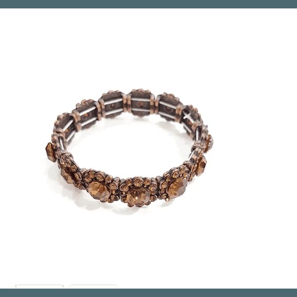 Bracelete vintage smoked 13586