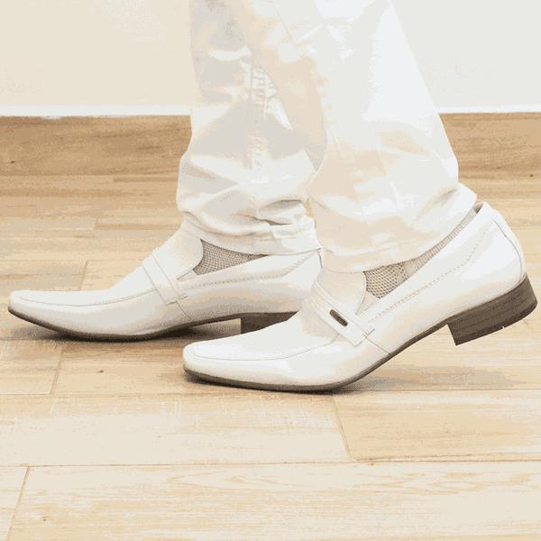 Sapato Branco Masculino Scatamacchia Social