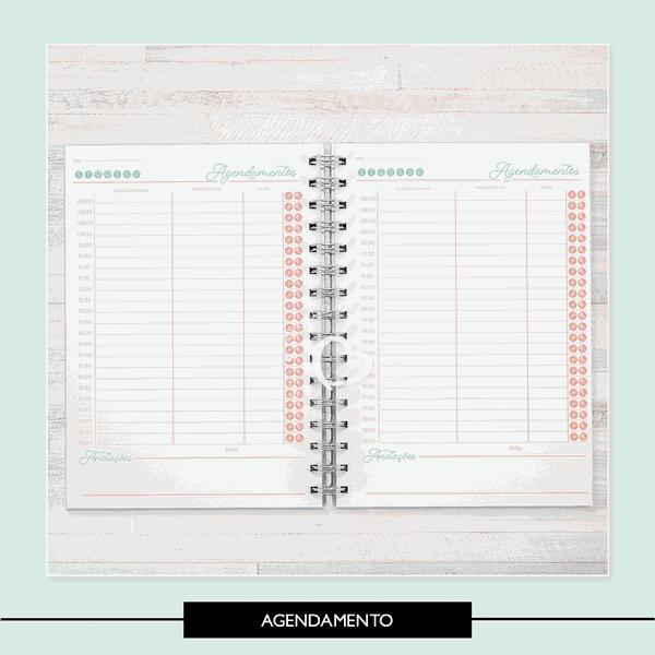 Miolo para Caderno - Agendamento