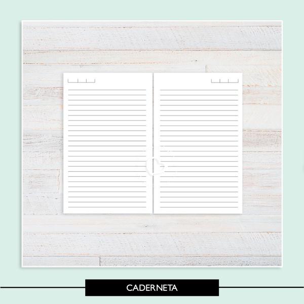 Miolo Pautado Caderneta