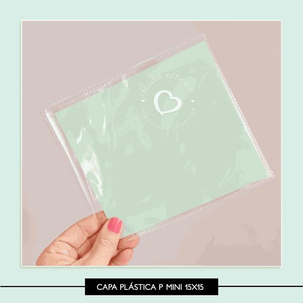 Capa Plástica - Álbum 15x15
