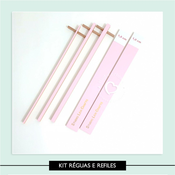 Kit Espaçadores e Refile