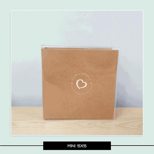 Estrutura Mini Álbum - 15x15