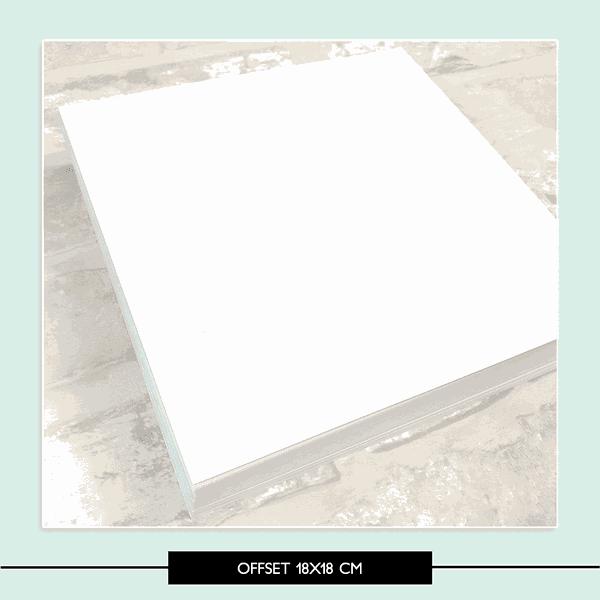 Papel Offset 18x18 - 90g