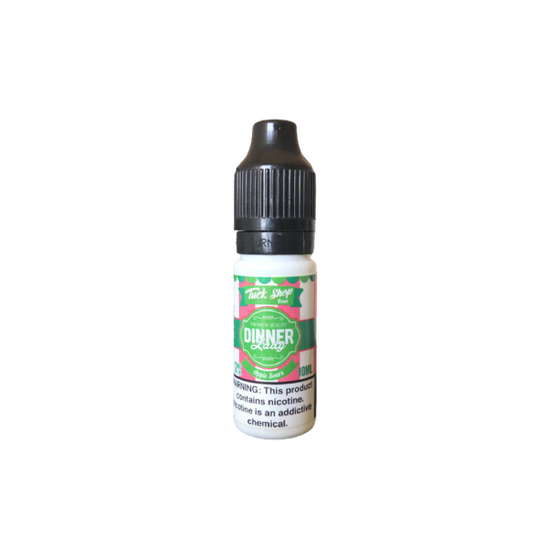 DINNER LADY TUCSHOP APPLE SOURS MG 10ML3MG