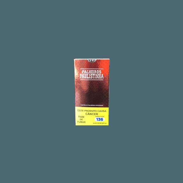 Palheiros Paulistinha Tradicional - 1 Maço de 20 cigarros
